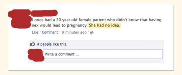 Doctors Deal With The Dumbest People Sometimes (15 pics)