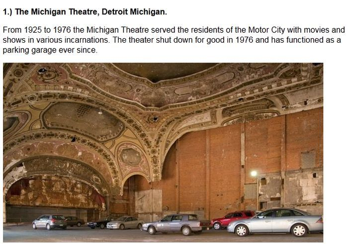 Abandoned Movie Theaters That Have To Be Haunted (19 pics)