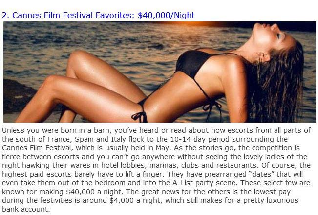 The Most Expensive Female Escorts Ever (10 pics)