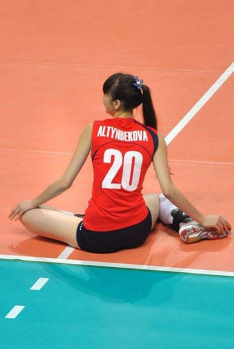 This Girl Is Too Good Looking For Volleyball (15 pics)