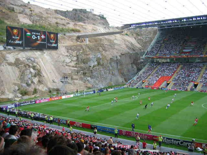 Amazing Football Field In Monaco (4 pics)