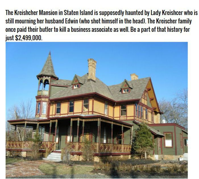 Real Haunted Houses That You Can Buy (13 pics)