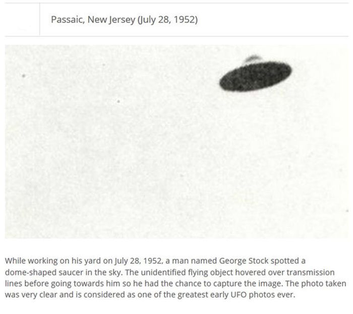 Are These UFO Photos Real? (25 pics)