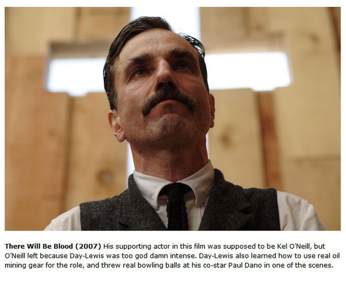 Daniel Day Lewis And His Intense Method Acting (11 pics)