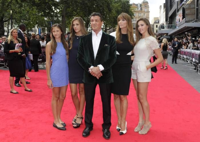 Sylvester Stallone Has A Gorgeous Family (11 pics)