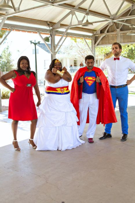 When Superman Marries Wonder Woman (19 pics)
