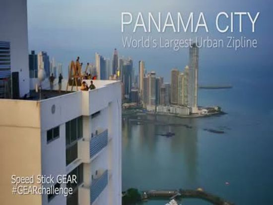 Awesome Urban Zipline In Panama City