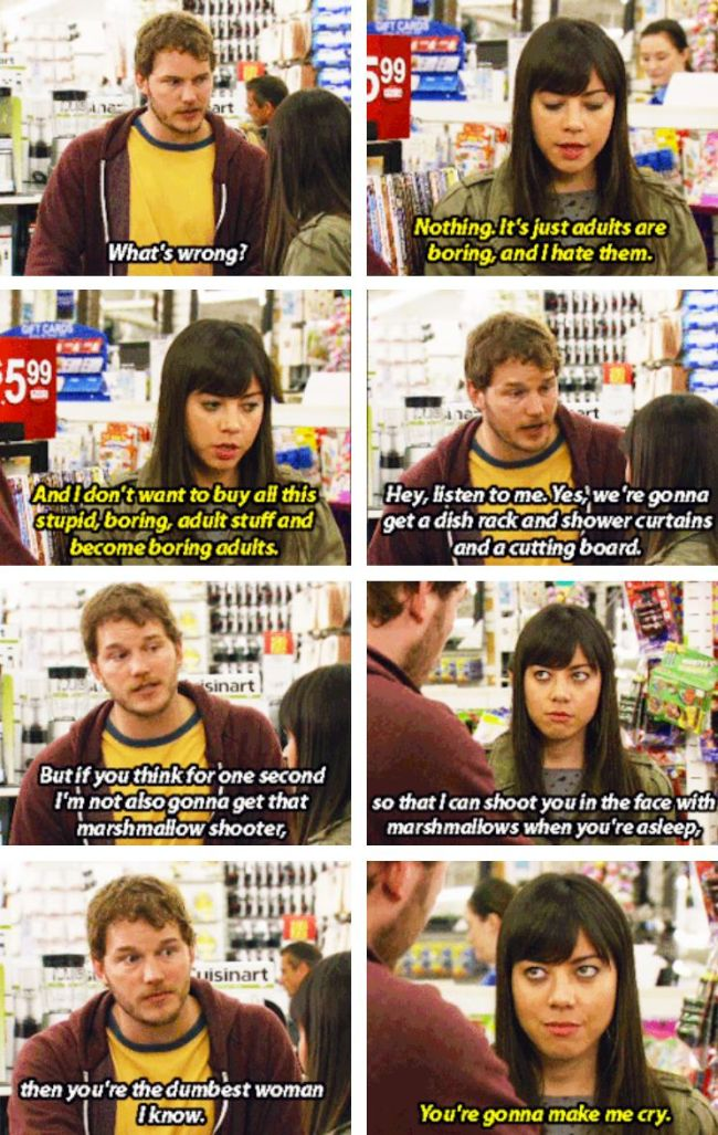 Great Moments From Chris Pratt's Andy Dwyer (24 pics)