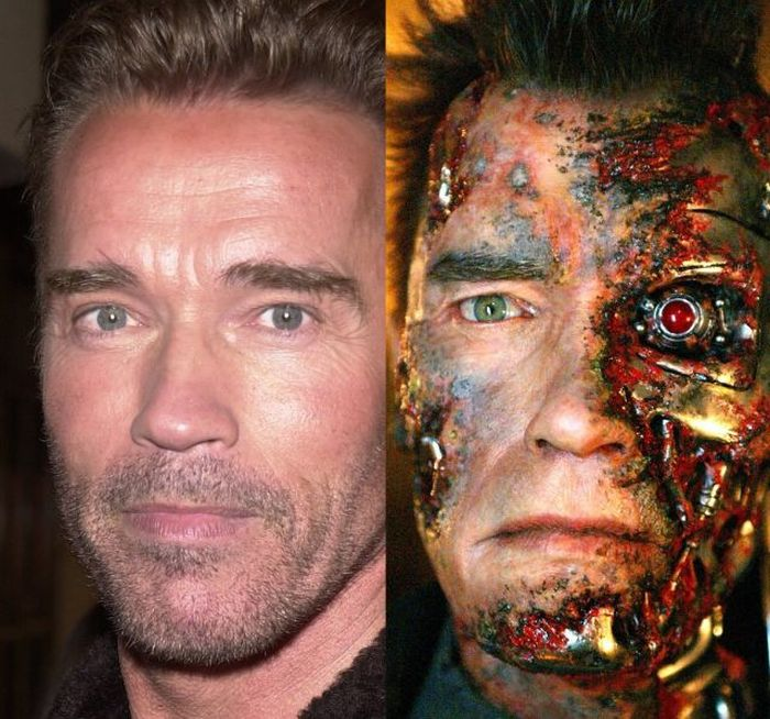 Amazing Makeup Transformations Made By Actors (16 pics)