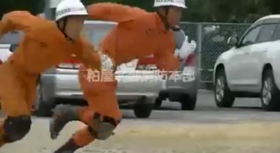 Japanese Firefighter With Amazing Skills