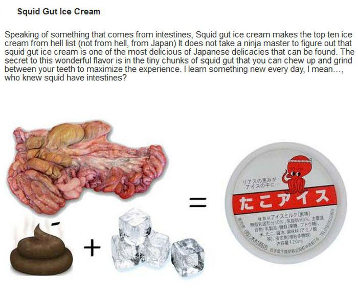 10 Weird Ice Cream Flavors You Never Want To Eat (10 pics)