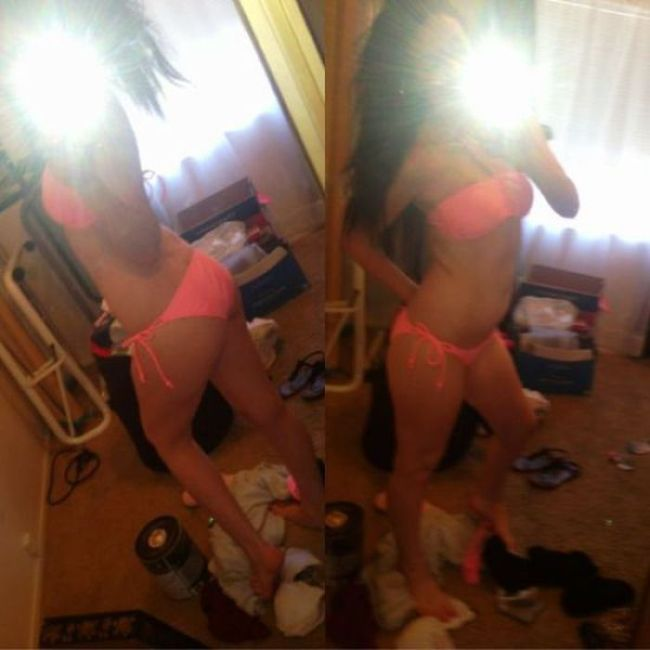 Hot Selfies In Dirty Rooms (30 pics)