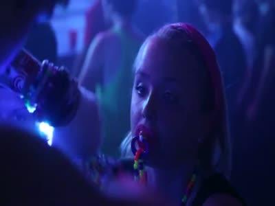 Girl At The Nightclub