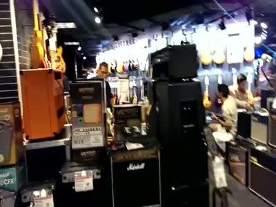 Visiting Guitar Center