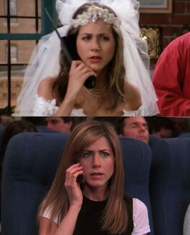 The Cast Of Friends In The First And Last Episode (7 pics)