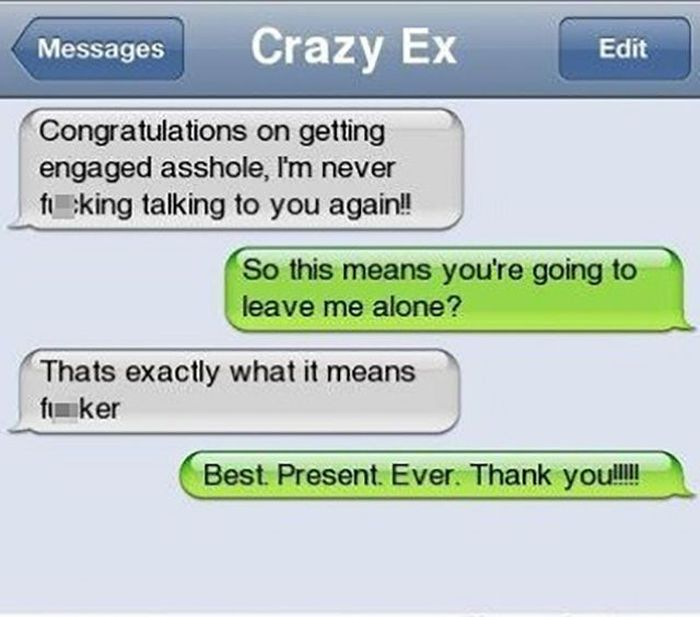How To Troll You Ex With A Text (34 pics)