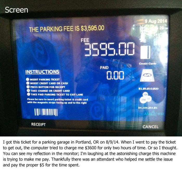 Most Expensive Parking Ever (2 pics)