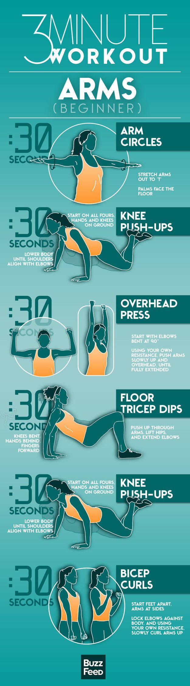 Work Out Your Arms In Only Three Minutes (7 pics)