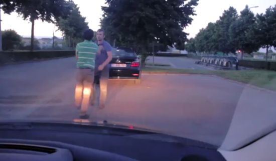Great Way To Prevent A Fight On The Road