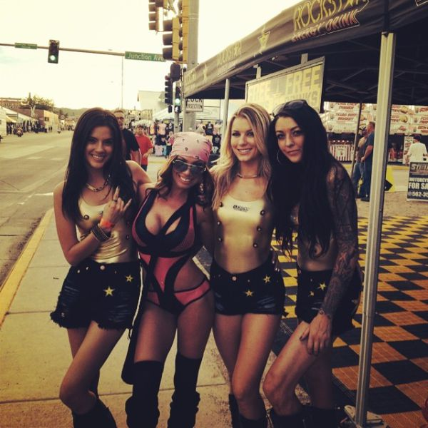 hot girls at sturgis
