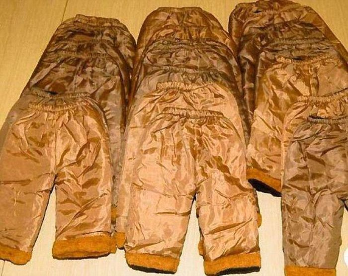 Pants Filled With Cocaine (4 pics)