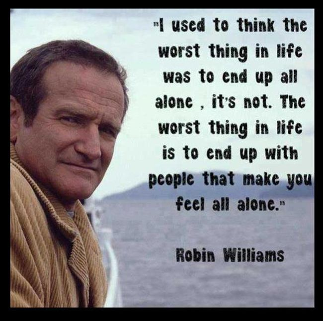 Memorable Moments From The Life Of Robin Williams (30 pics)