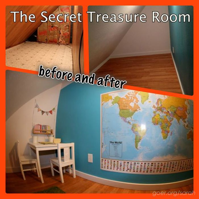 Secret Treasure Room (8 pics)