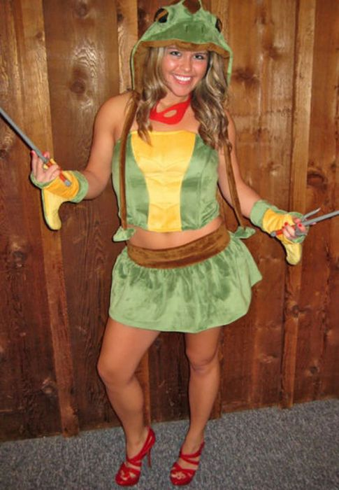 Sexy Teenage Mutant Ninja Turtles Cosplay 39 Pics-3112