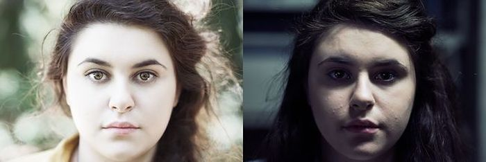 The Difference A Little Bit Of Light Can Make (10 pics)