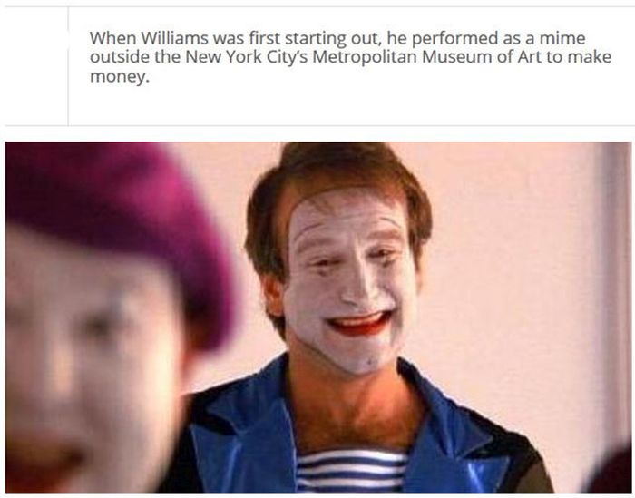 Fun Facts About The Late Great Robin Williams (25 pics)