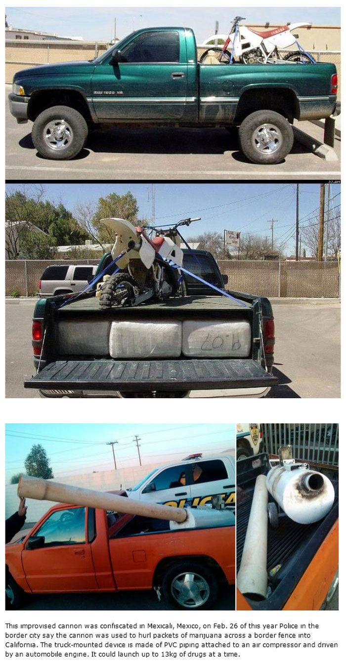 Strange Things People Have Used To Smuggle Drugs (15 pics)