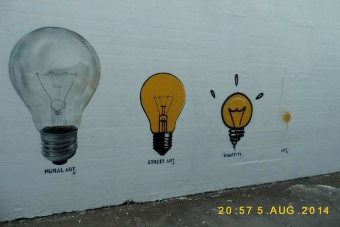 The Most Clever Street Art You'll Ever See By JPS (14 pics)