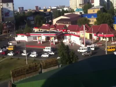 Terrifying Gas Station Explosion In Russia