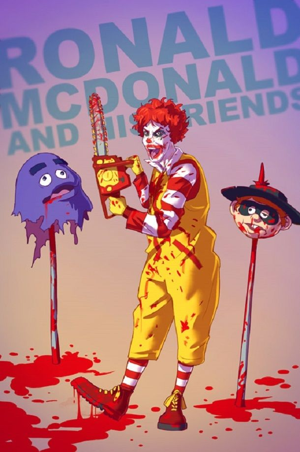 Childhood Icons Completely Reinvented (28 pics)