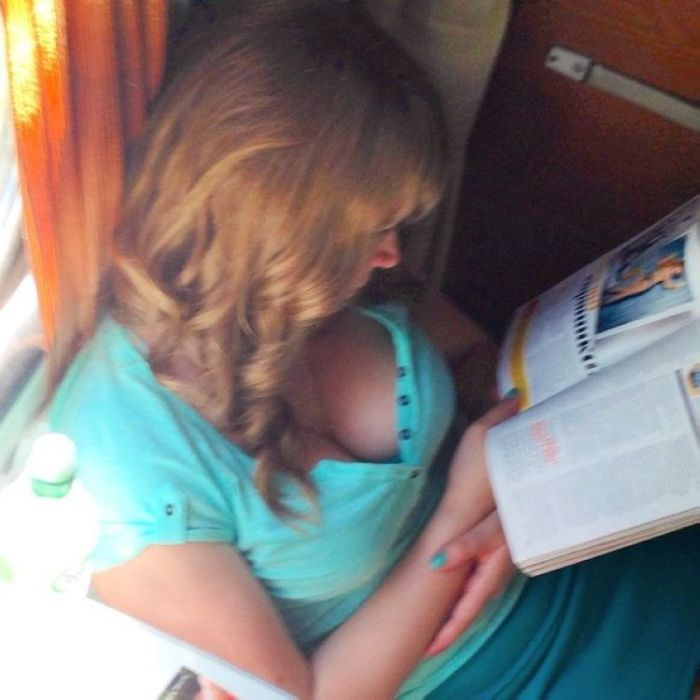 Girls Like This Are A Good Reason To Ride Trains (16 pics)