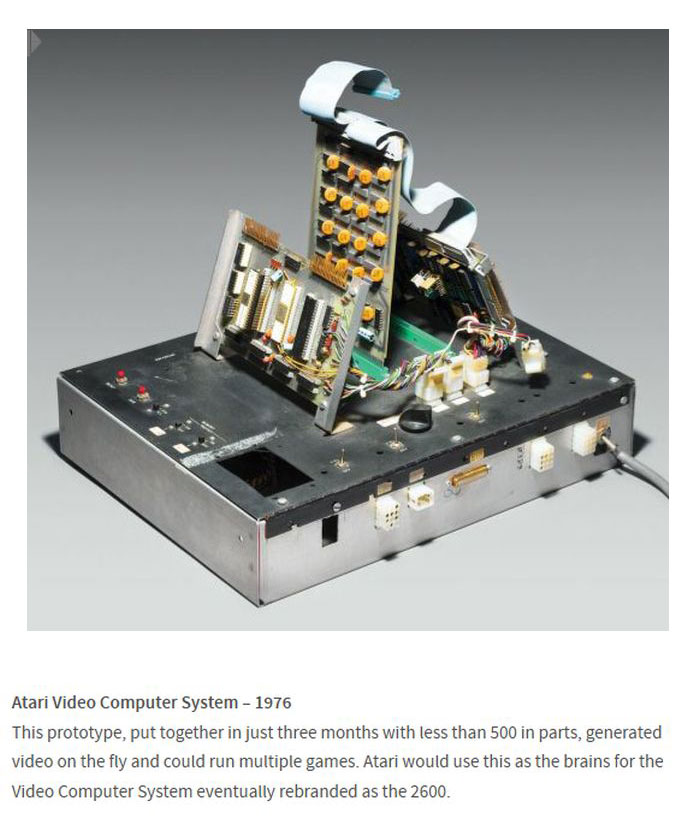 Early Prototypes Of Now Famous Technology (12 pics)