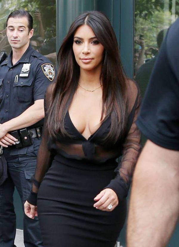 Kim Kardashian's Cleavage (12 pics)