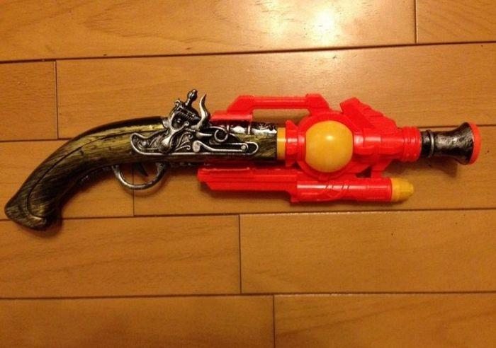 How To Make A Steampunk Handgun (4 pics)