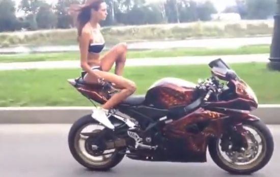 Girls On Motorcycles Are Awesome