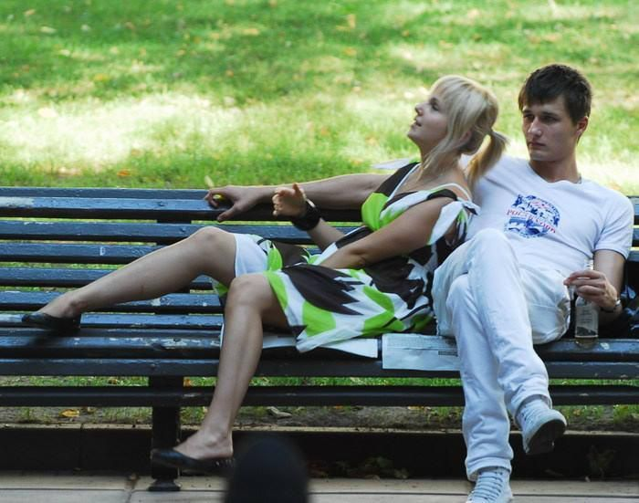 What It's Like To Be A Bench (36 pics)