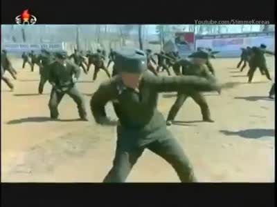 Special Forces Of DPRK Show Off