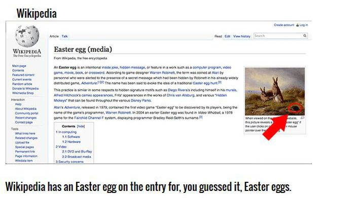 Easter Eggs You Didn't Know Are Hidden On The Internet (10 pics)