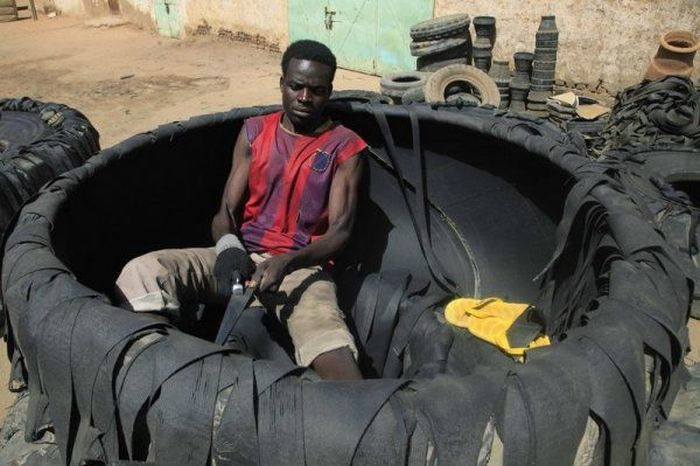 New Uses For Old Tires (6 pics)