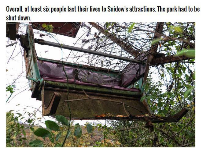This Abandoned Theme Park Is Definitely The Devil's House (8 pics)