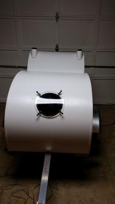 Motorsiklet, Römork, Yapımı, Motorsiklet için römork, köpek yuvası