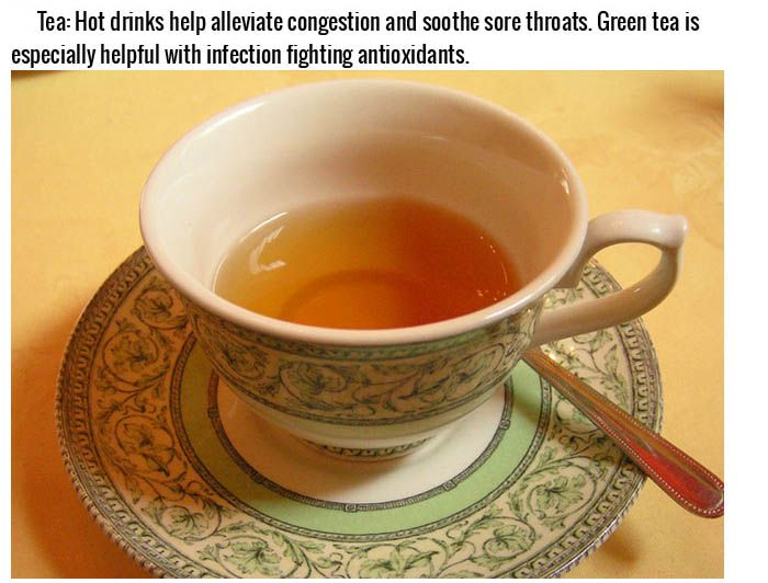 Best Foods To Cure A Cold Or Hangover (16 pics)