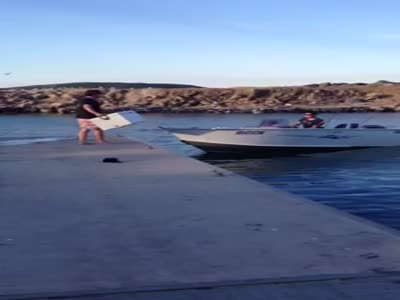 Loading Into The Boat Gone Wrong