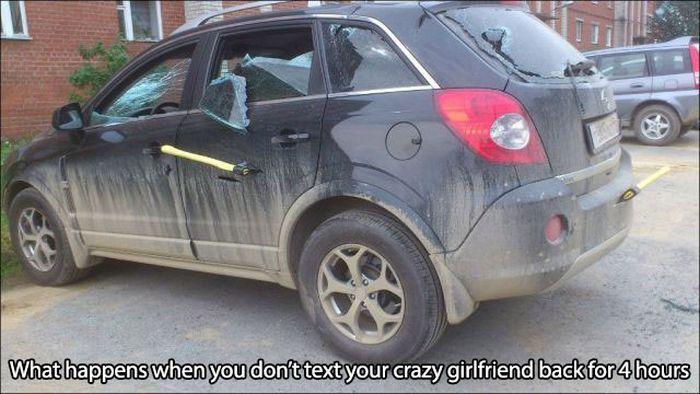 Γιατί πρέπει να Αποφύγετε Sleeping Με Crazy Chicks (20 pics)