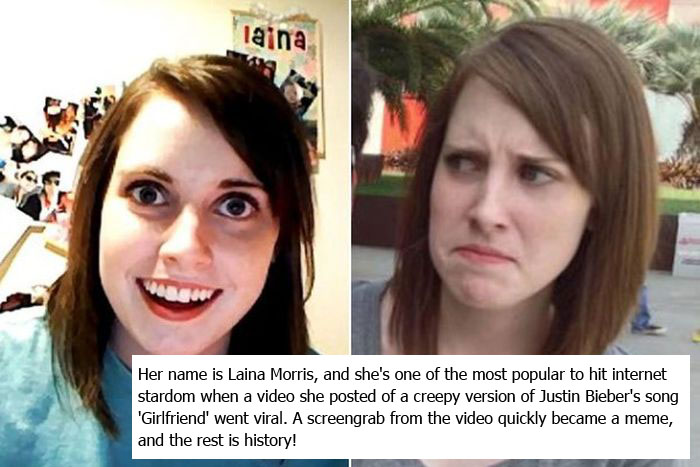People From Popular Memes Then And Now (8 pics)