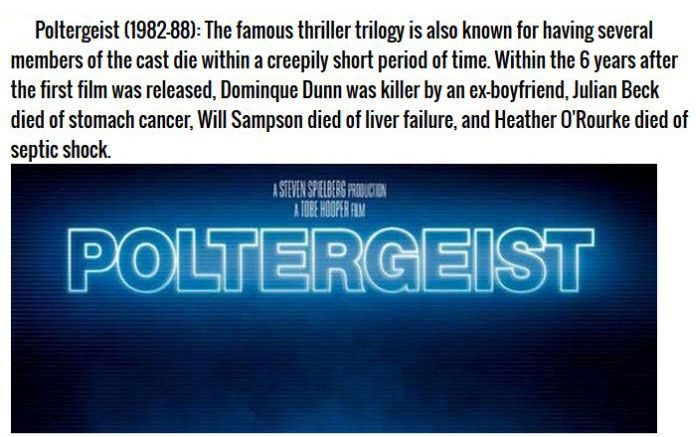 Hollywood Movies That Are Definitely Cursed (12 pics)
